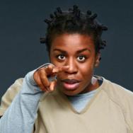 "Uzo Aduba as Suzanne ""Crazy Eyes"" Warren on ""Orange is The New Black"""