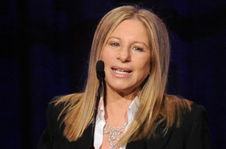 Actress/singer Barbra Streisand speaks onstage at the Public Counsel's William O. Douglas Award Dinner held at the Beverly Hilton Hotel on March 18, 2011 in Beverly Hills.