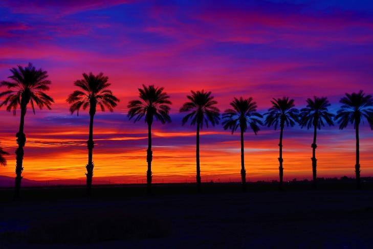 A SoCal sunset.