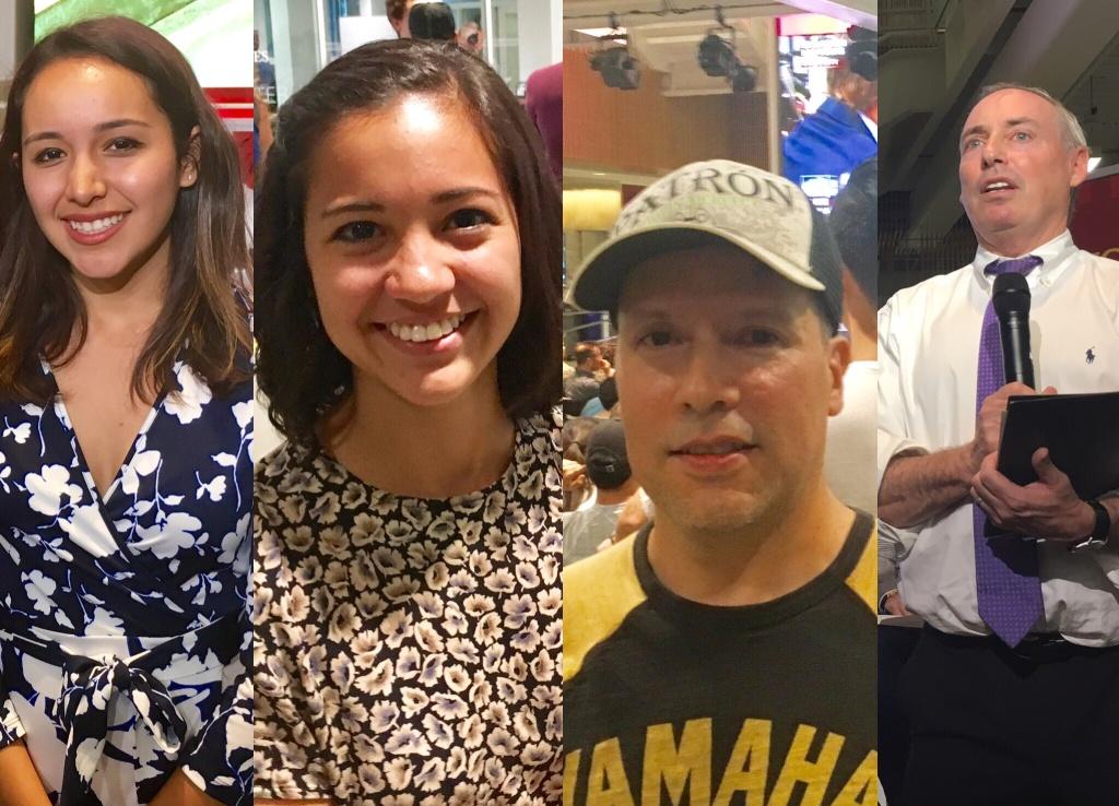 Mary Perez, Rachel Udabe, Ruben Duran and Dan Schnur