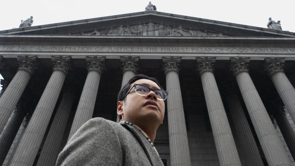 ACLU attorney David Ho in