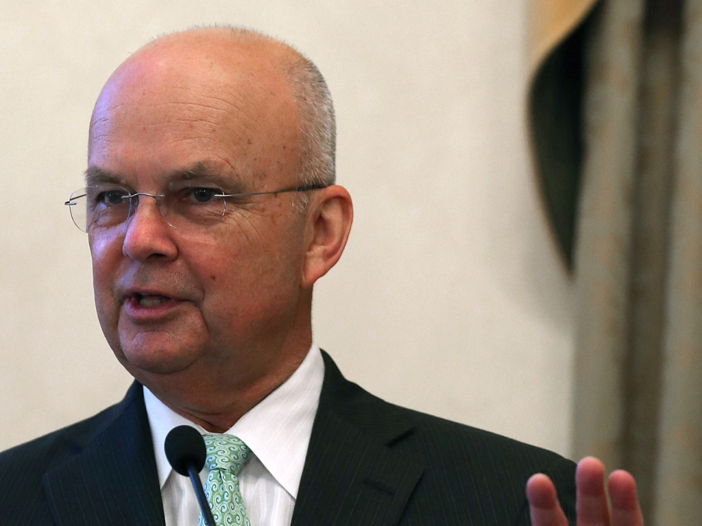 Retired Gen. Michael Hayden, former Central Intelligence Agency and National Security Agency director, in a 2012 photo.