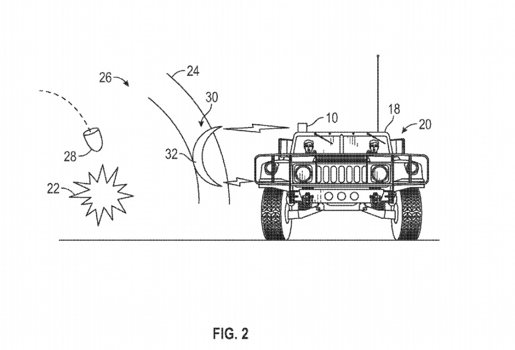 A diagram from a Boeing patent application approved in March 2015 shows a kind of