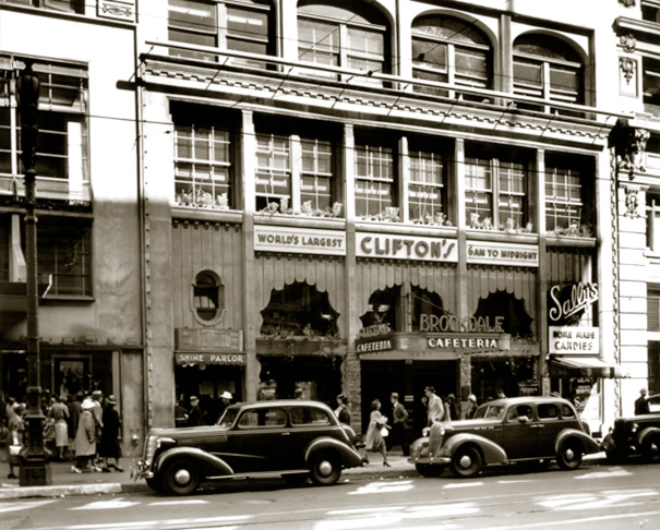 File photo: Clifton's Cafeteria in downtown Los Angeles