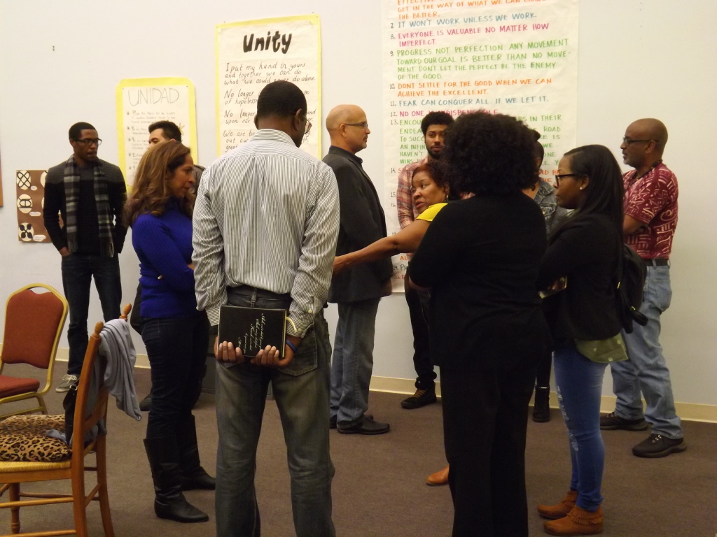 Rosalind Henderson's group meets in Culver City to discuss all issues relating to black people living and working in Los Angeles.