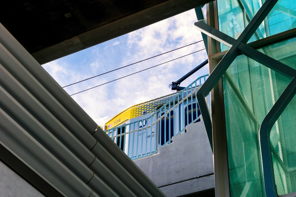 The Expo/Bundy Station is one of seven new stations opened along Metro's Expo Line extension to Santa Monica in 2016.Metro plans to further expand the rail network with funds from Measure M.