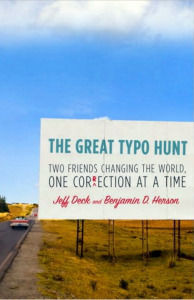 The book chronicles the authors' encounters with over four hundred errors and their attempts to right some two hundred wrongs, a quest that, in one instance, got them in trouble with the law.