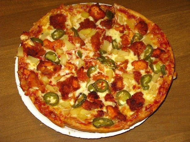 Pizza (or pik-sa, or pisa) con jalapeños, May 2009