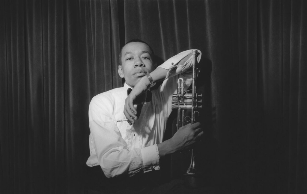 A portrait of Lee Morgan from 1960 featured in the documentary