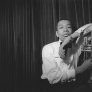 "A portrait of Lee Morgan from 1960 featured in the documentary ""I Called Him Morgan,"" directed by Kasper Collin."