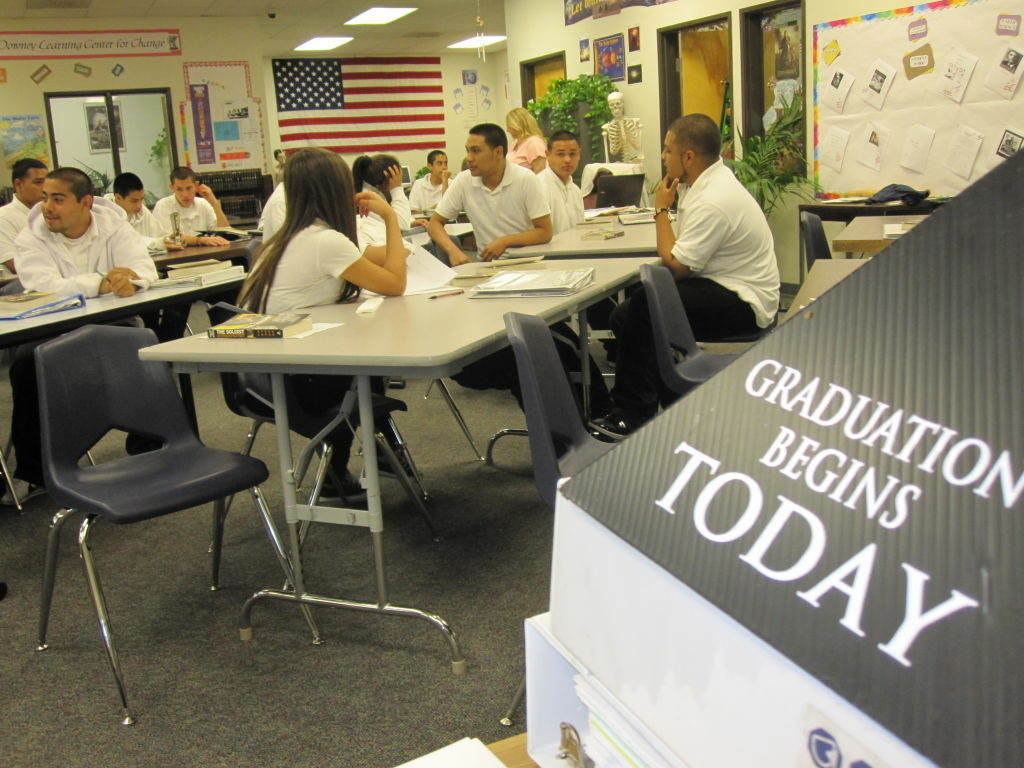 Downey Community Day School was spared the budget ax.