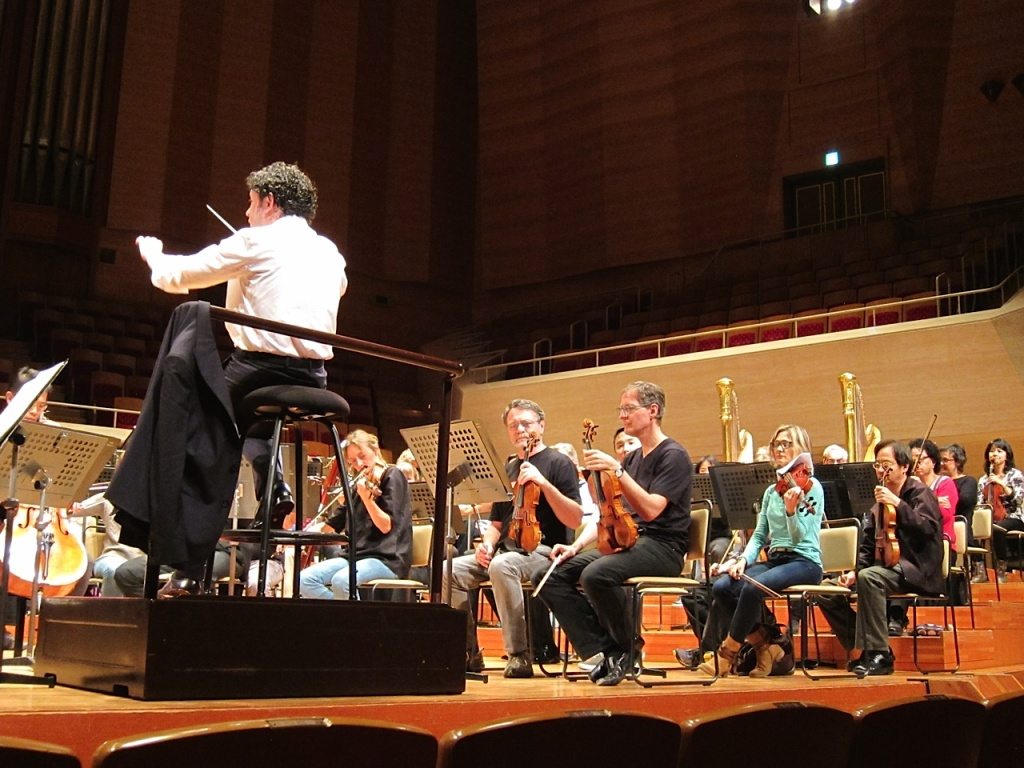Gustavo Dudamel and the LA Phil end their Asia tour in Tokyo.