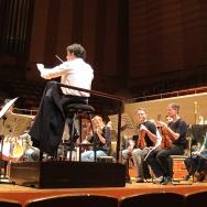 Dudamel and LA Phil rehearse in Tokyo