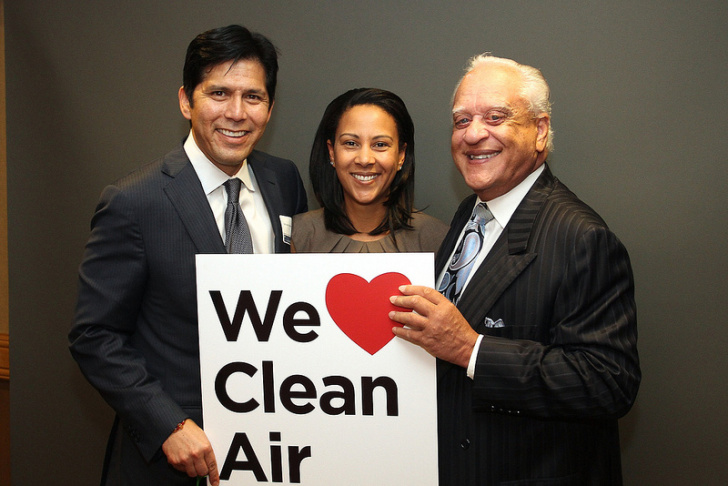 Autumn Burke, with William Burke and Kevin de Leon