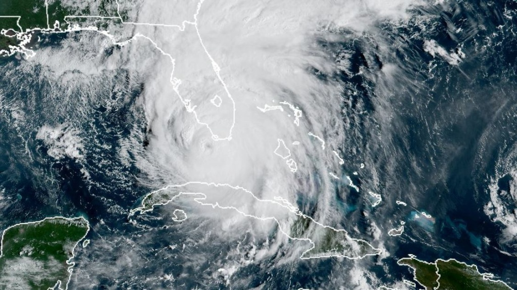 Hurricane Irma approached Florida as a Category 4 hurricane on Sunday. The storm had been a Category 5 — with 185-mph winds.