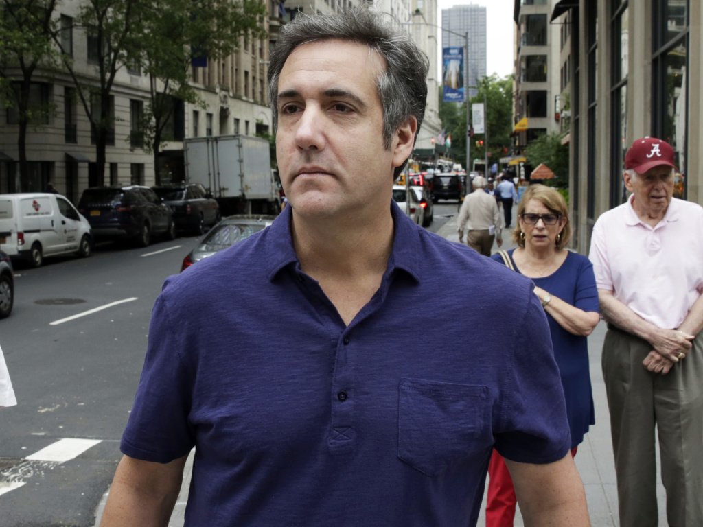 Onetime Trump attorney Michael Cohen has been one of the president's closest aides.