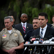 Federal Bureau of Investigation assistant director David Bowdich speaks during a news conference on December 4, 2015 in San Bernardino, California.
