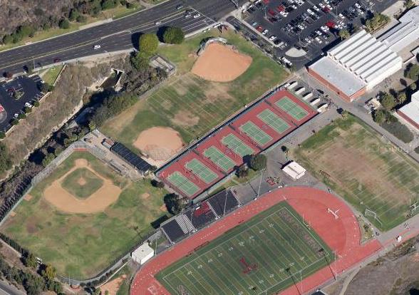san clemente high school google maps