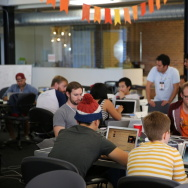 Programmers and comedians gather for Comedy Hack Day.