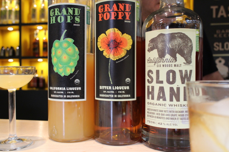 Grand Hops, Grand Poppy, Slow Hand Six-Wood Whiskey