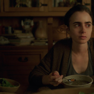 "Lily Collins plays Ellen in ""To the Bone,"" written and directed by Marti Noxon."
