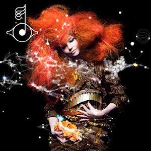 Björk has a new album that is only part of her new project: a specially created app includes visual elements and games that go with the music.