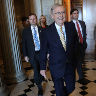 Mitch McConnell Works To Muster Votes To Proceed With GOP Health Care Bill