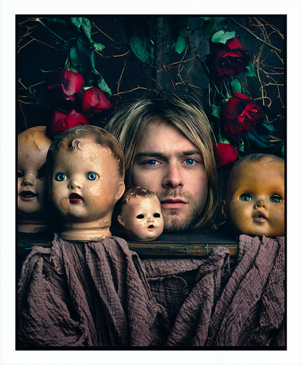 Kurt Cobain as photographed by Mark Seliger in 1993.
