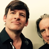 Off-Ramp host John Rabe and punk icon John Doe.
