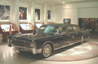 President Nixon's Presidential Limousine, a gift of the Ford Motor Company, has been recently added to the Richard Nixon Presidential Library and Museum.