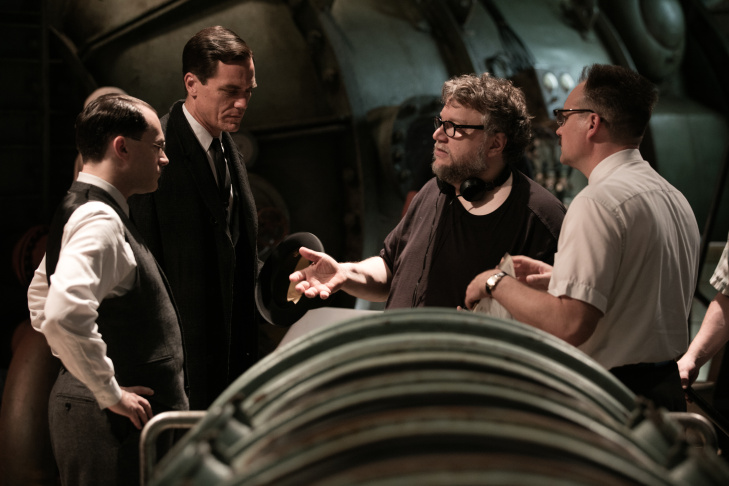 Guillermo del Toro, winner of the awards for best director and best picture for