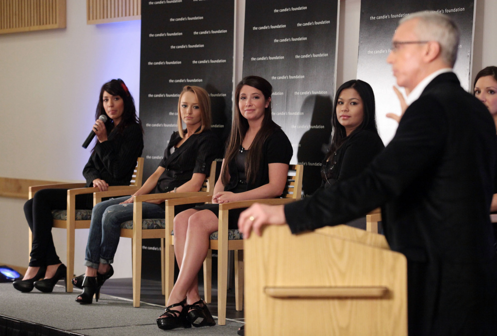 Farrah Abraham, Maci Bookout and Bristol Palin  speak to Dr. Drew Pinsky during