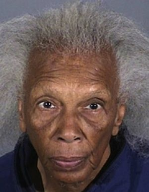 Doris Thompson booking photo