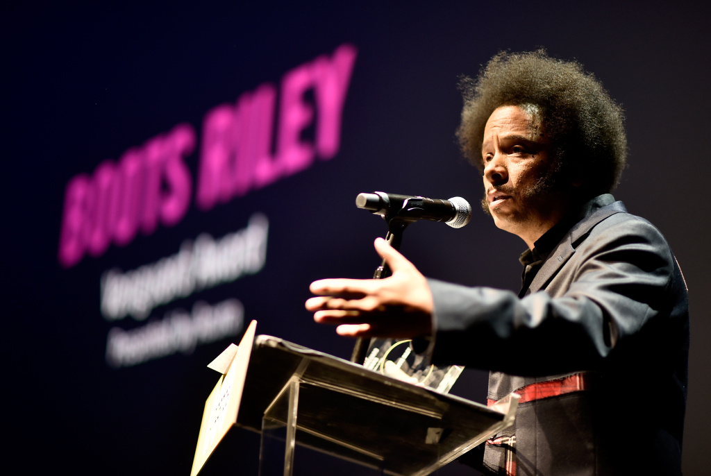 Boots Riley attends the Sundance Institute at Sundown Summer Benefit at the Ace Hotel on June 14, 2018 in Los Angeles, California.