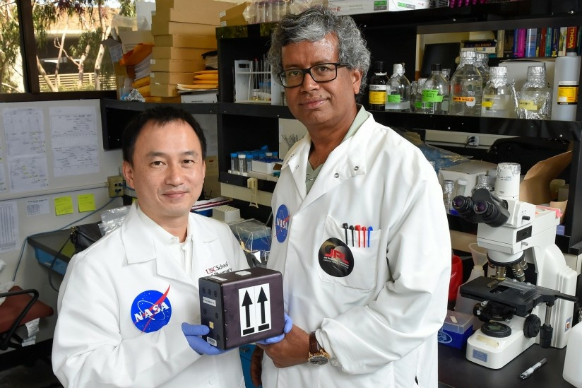 Clay Wang and Kasthuri Venkateswaran will launch fungi into space to potentially develop new medicine for use both in space and on Earth.