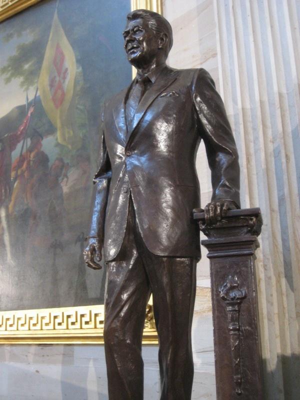 Bronze Statue of Ronald Reagan