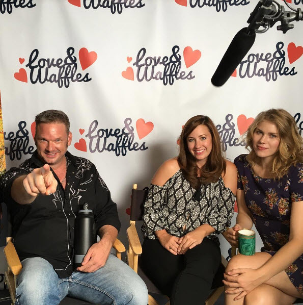(L-R) Tom Kiesche, Kristen Lynn and Ellie Carey are part of the cast in