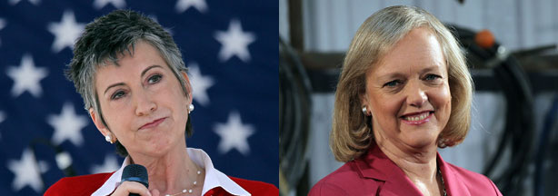Carly Fiorina and Meg Whitman