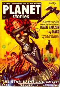 Leigh Brackett could have lived off screenwriting, but she loved writing science fiction stories and earned the nickname