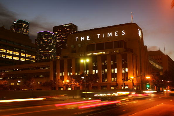 Journalists from the Los Angeles Times have been barred from Disney film screenings due to an article the paper published last month outlining Disney's ties with the city of Anaheim.