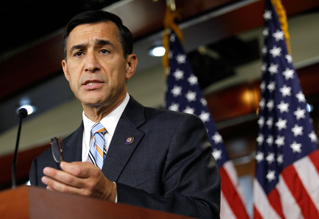 U.S. Rep. Darrell Issa (R-Vista) is giving speeches this week in a state known for launching presidential candidates