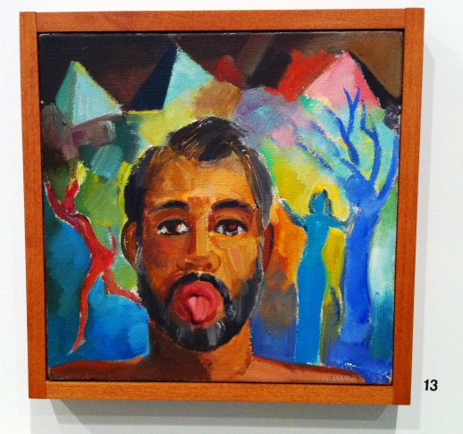 Carlos Almaraz: A Life Recalled, at ELAC's Vincent Price Art Museum