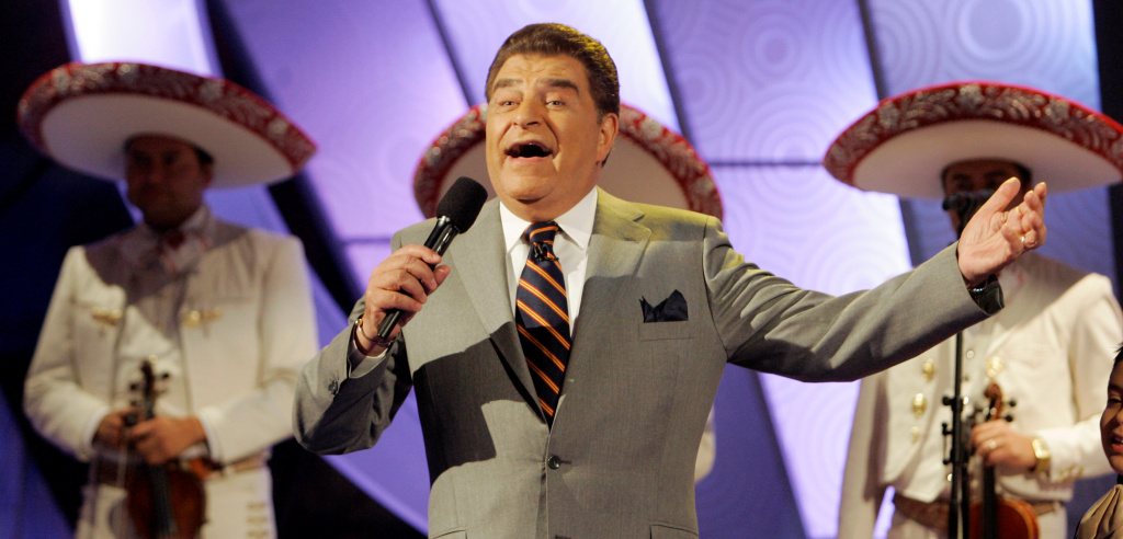Mario Kreutzberger, better known as Don Francisco, the host of the Spanish language variety show, Sábado Gigante.