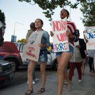 Trayvon Martin Rally Los Angeles Leimert Park