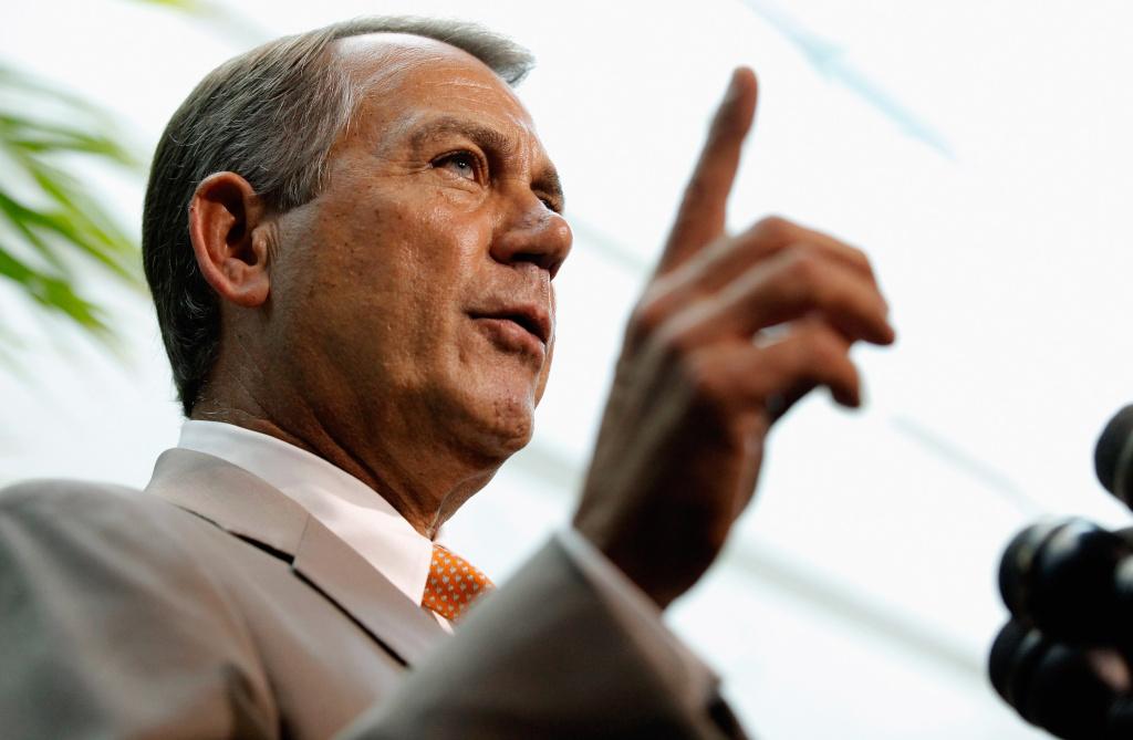 Speaker of the House of Representatives John Boehner.