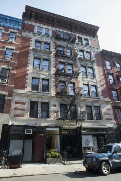 170 E. Second St. in the East Village neighborhood of Manhattan, is among the buildings for which Jared Kushner's family real estate company reportedly filed false documents with New York City.