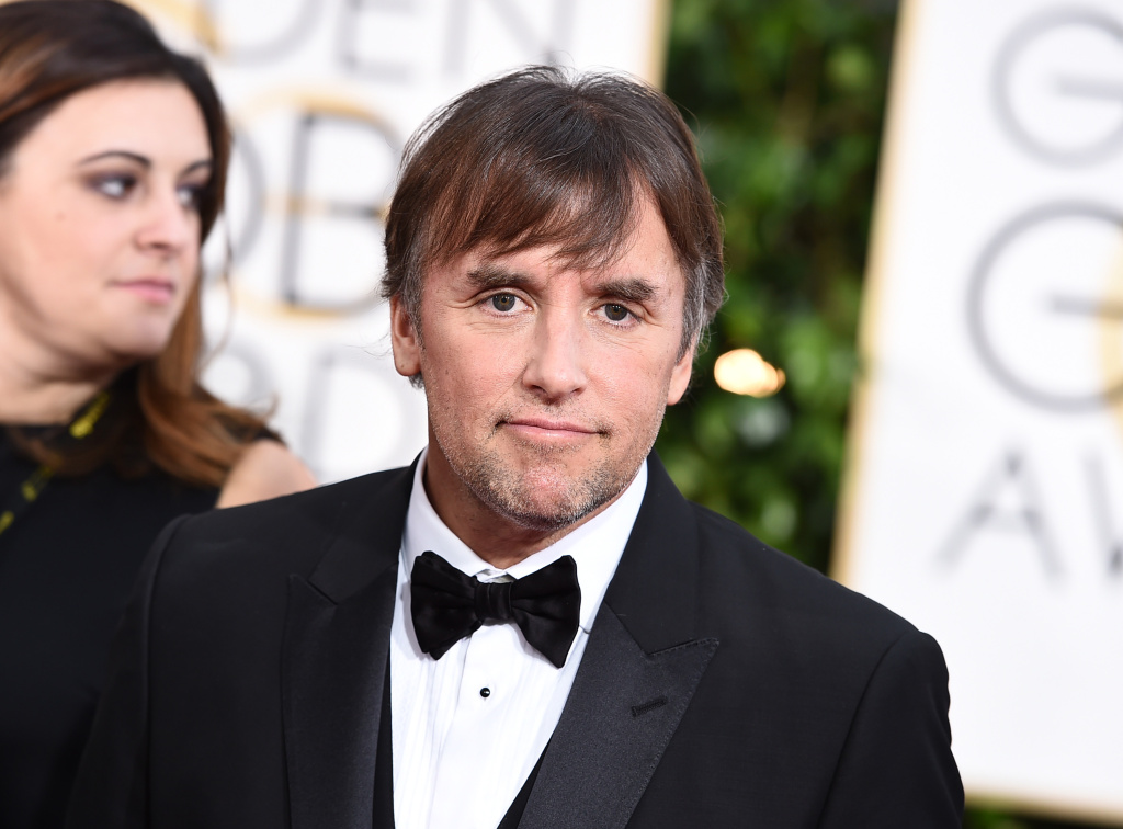 Richard Linklater arrives at the 72nd annual Golden Globe Awards at the Beverly Hilton Hotel on Sunday, Jan. 11, 2015, in Beverly Hills, Calif. Linklater has been nominated for a Directors Guild Award for his film
