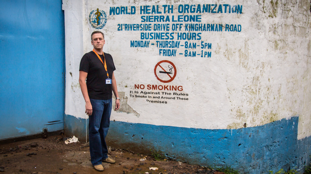 Dr. Joseph Fair, an American virologist, has worked in Sierra Leone for more than a decade.