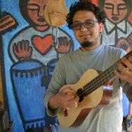 Cesar Castro, a contemporary 'Son Jarocho' musician who lives in L.A.