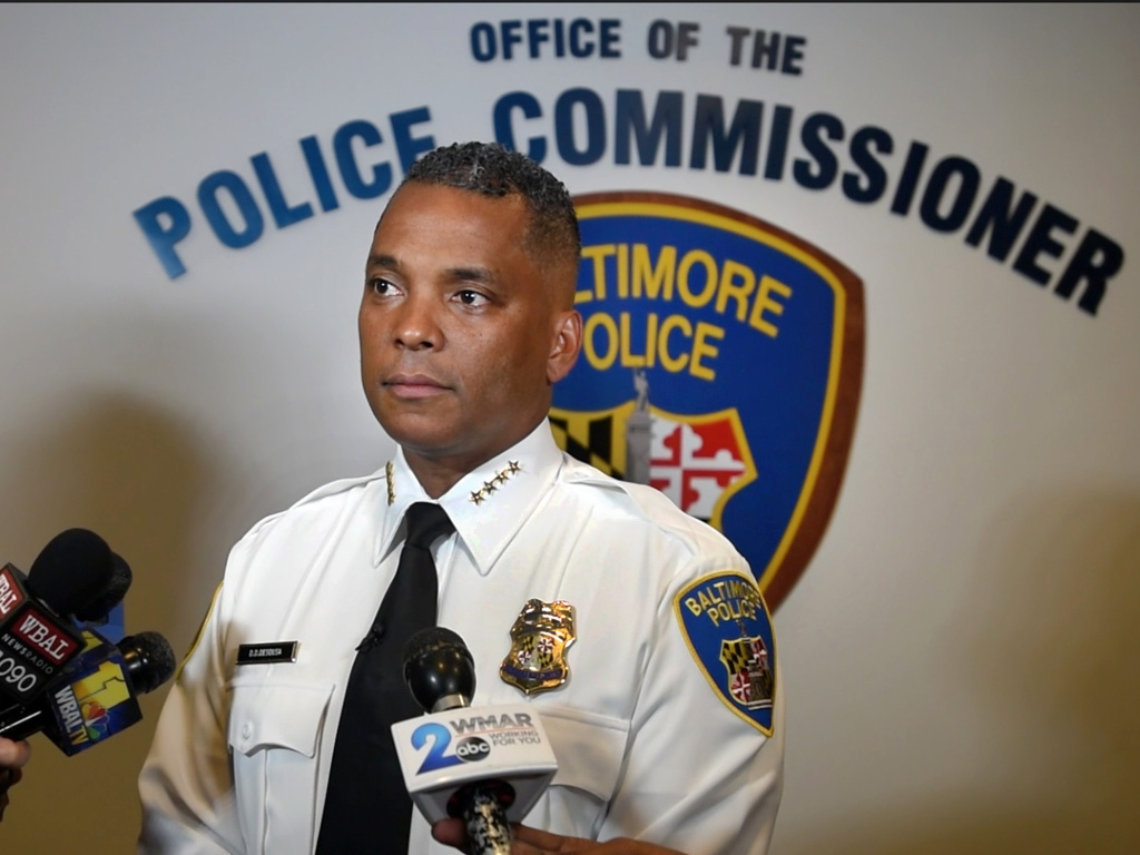 Former Baltimore Police Commissioner Darryl De Sousa resigned on Tuesday. In charges last filed last week, federal prosecutors said he